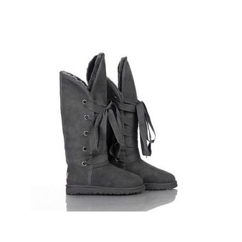 Ugg Boots Outlet Black Friday Roxy Tall 5818 Grey For Women 87 62