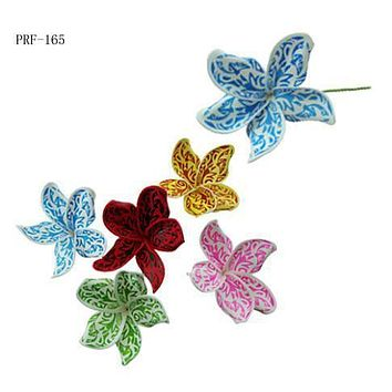 Tattoo Plumeria Flower Hair Stick