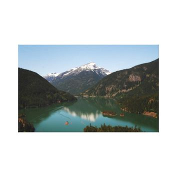 Ross Lake Canvas Art