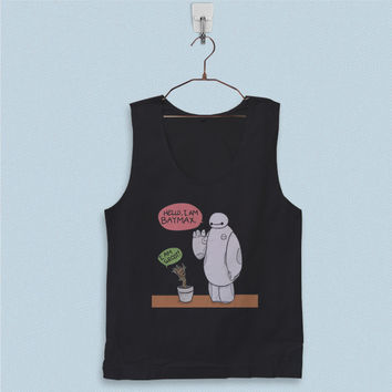 Men's Basic Tank Top - Marvel Character Baymax and Groot