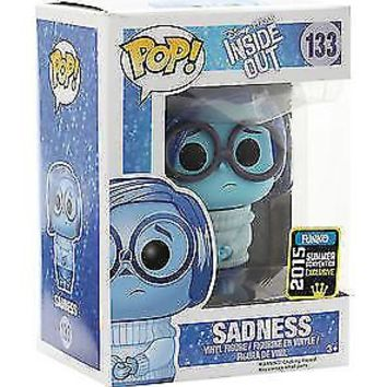 Funko Pop Disney: Inside Out - Sadness Exclusive Vinyl Figure