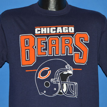 80s Chicago Bears Helmet t-shirt Medium