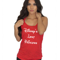 Disney's Lost Princess burnout Tank  top.