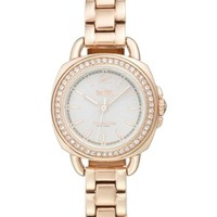 Coach 'Tatum' Crystal Bezel Bracelet Watch, 24mm | Nordstrom