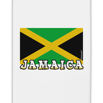 "Jamaica Flag Fridge Magnet 2""x3"