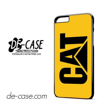 Yellow Caterpillar Logo DEAL-12123 Apple Phonecase Cover For Iphone 6/ 6S Plus
