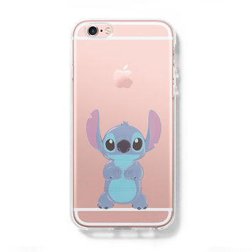LILO & STITCH iPhone 6 Case iPhone 6s Plus Case Galaxy S6 Edge Clear Hard Case C137