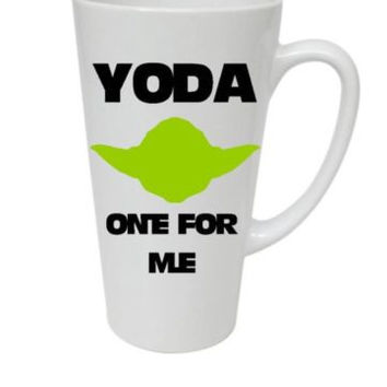 Yoda The One For Me Handmade Latte Mug, Great Valentine's Day Gift