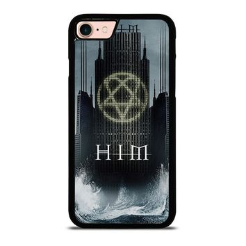 HIM BAND HEARTAGRAM iPhone 8 Case Cover