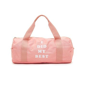 BAN.DO WORK IT OUT GYM BAG - I DID MY BEST