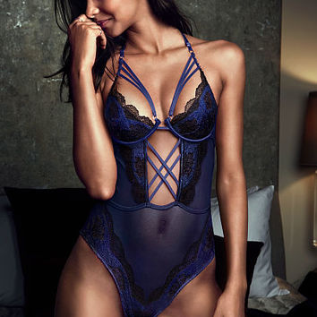 Limited Edition Lace Crisscross Teddy - Very Sexy - Victoria's Secret