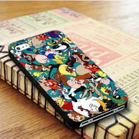 Bugs Bunny Looney Tunes All Characters iPhone 4SCase Sintawaty.com