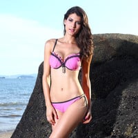 Swimsuit Beach New Arrival Hot Summer Swimwear Sexy Bottom & Top Casual Bikini [6047647809]