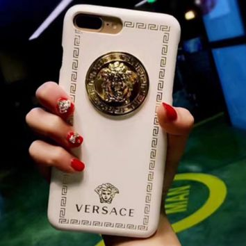 Versace cute shining iphone case cover protector for Iphone 6/6s/6plus/7plus/8plus/X