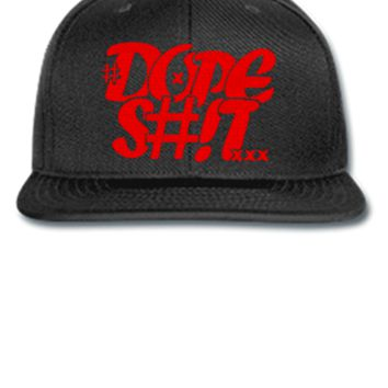 dope shit red Snapback,Hat - Snapback Hat