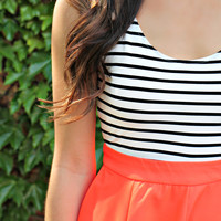 California Coral Dress