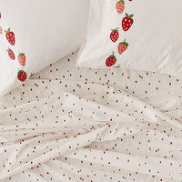 Strawberry Sheet Set | Urban Outfitters