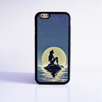 Little Mermaid  Rubber Case Cover for Apple iPhone 4 4s 5 SE 5s 5c 6 6s Plus
