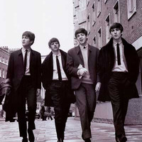 The Beatles Taking a Stroll XL Giant Poster 40x60