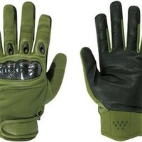 Military Carbon Fiber Knuckle Tactical Gloves