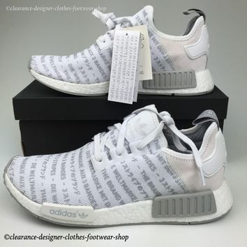 ADIDAS NMD R1 MENS TRAINERS NOMAD BLACKOUT WHITEOUT BOOST LTD EDITION RUN SHOES