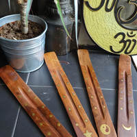 Moonlight Incense Holders