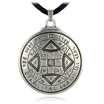 EZEI Talisman To Obtain Love Key of Solomon Pentacle Seal Pendant Hermetic Enochian Kabbalah Pagan Wiccan Jewelry