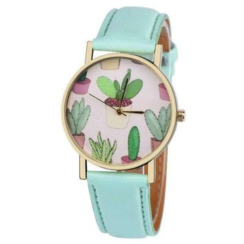 Succulent Lovers Wrist Watch - Free Shipping!