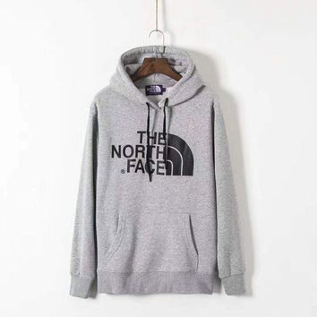 CREYV9O THE NORTH FACE Men Fashion Splicing Print Long Sleeve Hoodie Pullover Sweater  G-ZDL-STPFYF