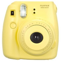 Fujifilm - instax mini 8 Instant Film Camera - Yellow