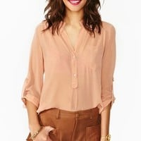 Prudence Pocket Blouse