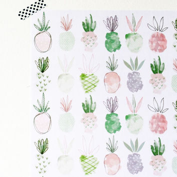 Emma Kate Co. | Double Sided Wrap | Pineapples