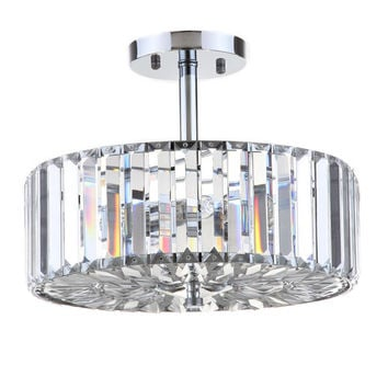 Shorney 3-Light Semi Flush Mount