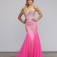 Mac Duggal 81719 Jeweled Mermaid Prom Dress Sale $699