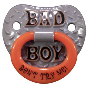 Billy Bob Pacifier Baby Bad Boy Pacifier