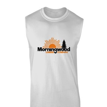 Morningwood Company Funny Muscle Shirt  by TooLoud