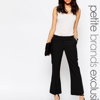 New Look Petite Tailored Flared Trouser