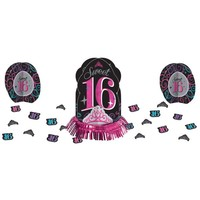 Celebrate Sweet 16 Table Decorating Kit 23pc