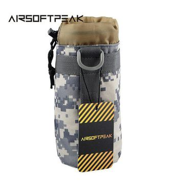 VONL8T AIRSOFTPEAK Tactical Water Bottle Pouch Outdoor Camping Hiking Kettle Pouch Hunting Bag Molle Pouches Drinking Bottles Holder