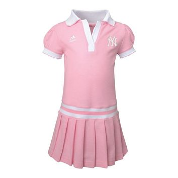 Majestic New York Yankees Polo Dress - Baby, Size: