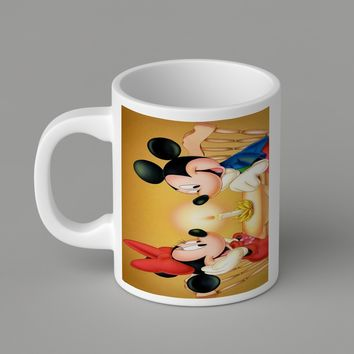 Gift Mugs | Mickey With Minnie Mouse Ceramic Coffee Mugs