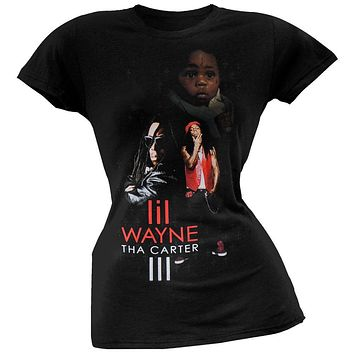 Lil Wayne - Big III Juniors T-Shirt
