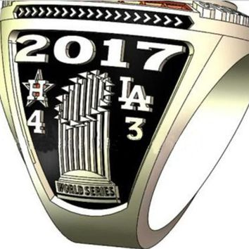 Houston Astros 2017 World Series Championship Ring