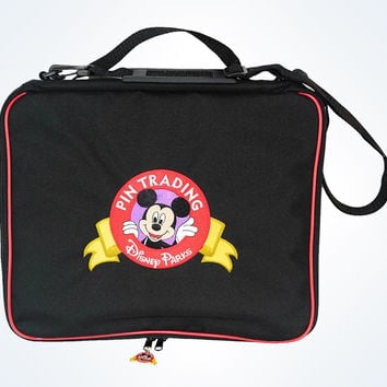 Disney Parks Mickey Mouse Pin Trading Bag New With Tag