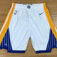 Golden State Warriors White Shorts - Best Deal Online