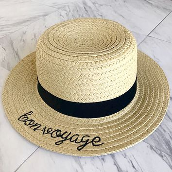 Take Me To Panama Straw Hat