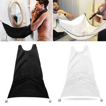 Man Bathroom Beard Care Trimmer Hair Shave Apron Gown Robe Sink Styles Tool [8833413004]