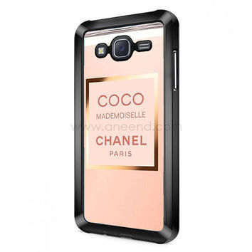 Coco Chanel Perfume Quotes Mademoiselle Samsung Galaxy J5 (2016) Case  | Aneend.com