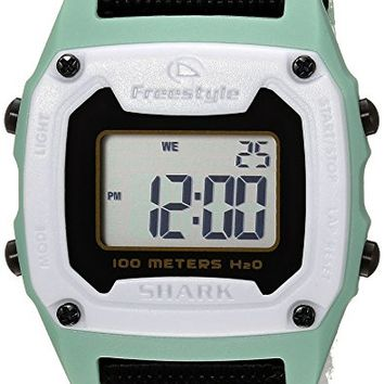 Unisex 10025471 Shark Classic Mini Digital Display Japanese Quartz Black Watch