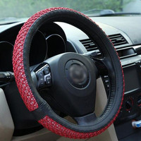 Hot Deal On Sale Car Acessory Summer Steer Wheel Cover [4914635972]